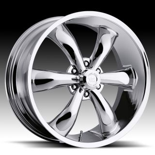 INCH 6X5.5 CHROME VISION LEGEND 6 WHEELS RIMS 6 LUG 22X9.5 +30 OFFSET