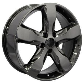 2011 Jeep Grand Cherokee Wheels Rims Black Chrome 20x8