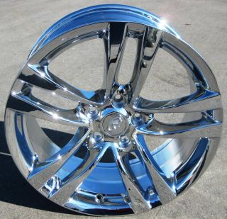 NEW 18 FACTORY INFINITI G37 G37X G25 M37 M56 OEM CHROME WHEELS RIMS