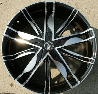 MAZE PL1 22 BLACK RIMS WHEELS FORD F150 F 150 04 up / 22 x 9.5 6H +25