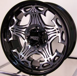 20 Skull Wheels Rim Chevy Dodge Ford 2500 3500 HD 8LUG