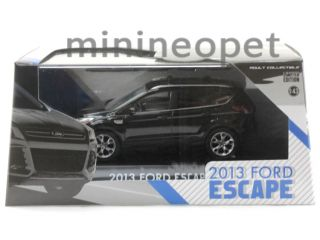 Greenlight 86024 2013 13 Ford Escape SUV 1 43 Diecast Black