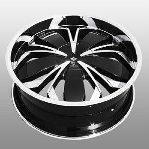 Black Widow Chrome Wheels Rims 4x4 5 Lancer Altima Sentra G20
