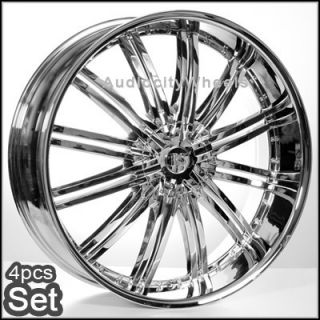 28inch Rims Chevy Ford Escalade GMC RAM F150 H3 Wheels