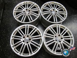 Mercedes MBZ CL600 S550 Factory 19 Wheels OEM Rims 85195 85196 W216