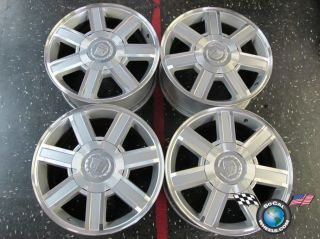 02 12 Cadillac Escalade Factory 18 Wheels Rims 5303 9595459 Tahoe