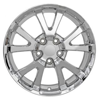 17 Pontiac Torrent Chrome Wheels 5275 Rims Fit Chevrolet Equinox
