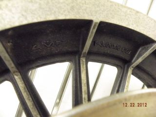 Rear Mag Wheel Harley FX FLH 80s 16 Spoke Shovelhead 3 00 x 16 AMF
