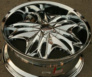 Viscera 728 20 Chrome Rims Wheels Lexus ES330 GS300 SC300 20 x 8 5
