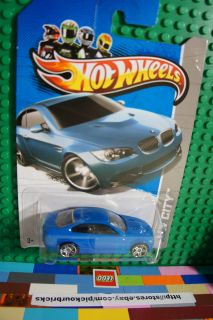 Hot Wheels City Blue BMW M3 Diecast 2013 New Models Series