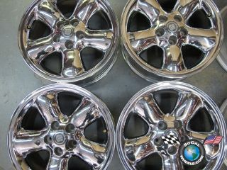 four 97 99 Cadillac Catera Factory 16 Wheels Chrome OEM Rims 4532