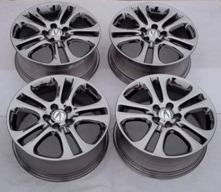 Honda Acura Enkei Chrome Wheel Set 18 5 Lug New