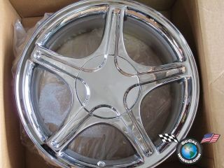 One 99 04 Ford Mustang Factory 17 Chrome Wheel OEM Rim 3307 YR33 1007