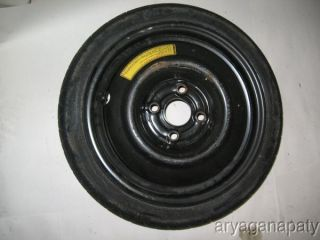 Honda Civic integra OEM spare wheel temporary rim tire STOCK 105/70/14