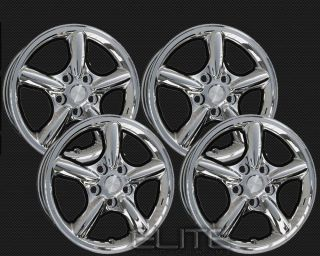Cherokee 17x7 Factory Replacement Chrome Alloy Set of 4 Rims
