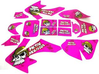 Graphics Decals Stickers Kit Honda CRF50 SDG 107 DE26