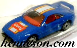 Toyota Mr 2 Rally Getty Blue Hot Wheels 1992 Bag Promo