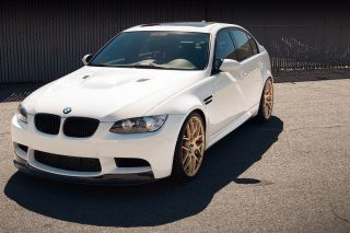 BMW E90 M3 Avant Garde M310 Concave Black Staggered Wheels Rims
