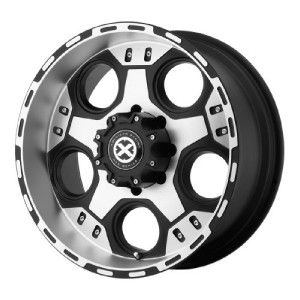 17 inch ATX Justice Black Wheels Rims 5x135 Ford F150