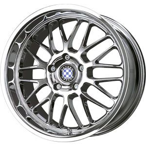 New 18x8 5 5x120 Beyern Mesh Chrome Wheels Rims