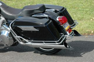 Smooth Front Fender Harley Street Glide Road King FLHT