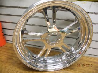 Custom Billet Mag Rear Wheel Ironhorse Harley Chopper 5 5 x 18 200