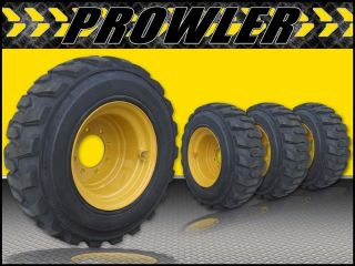 12x16 5 12 Ply Skid Steer Cat Wheels Rims and Tires