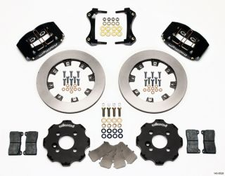 Wilwood Disc Brake Kit Complete Mini Cooper BMW Black Calipers