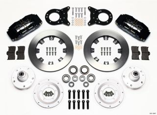 Wilwood Disc Brake Kit 65 69 Ford Mercury 12 Rotors 6 Piston Front