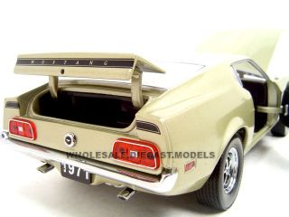 Brand new 118 scale diecast model car of 1971 Ford Mustang SportsRoof