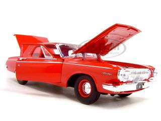 1963 Dodge 330 Red 1 18 Scale Diecast Model