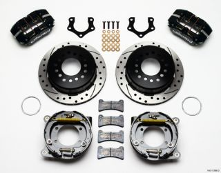 Wilwood Disc Brake Kit Rear Parking Brake Mopar 8 3 4 Dana 60 2 50