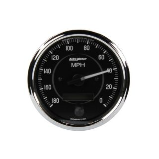 Meter Cobra 4 Electric Speedometer 0 180 MPH 270 Degree Sweep
