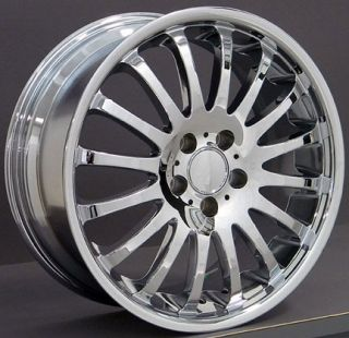 18 Rims Fit Mercedes Chrome Wheels 18x8 18x9 Set