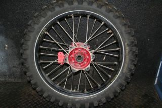 CRF450 CRF 450 CRF450 Rear Wheel Hub Rim Spokes