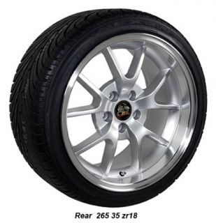 18 9 10 Fits Mustang® GT FR500 Style Wheels Tires Deep Dish