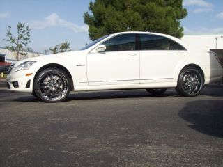 22 Mercedes Wheels S550 CL550 S63 s CL63 S600 CL600 Tires asanti HRE