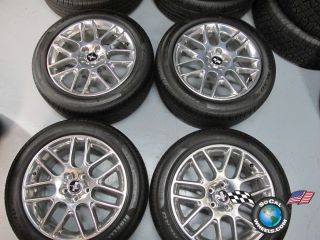 Ford Mustang Factory 18 Polished Wheels Tires Rims OEM CR3J 1007 CA