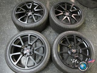 cts cts V Coupe Factory 19 Black Wheels Tires Rims 4647 4649