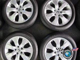 Honda Accord Factory 17 Wheels Tires OEM Rims 63934 225/50/17 Michelin