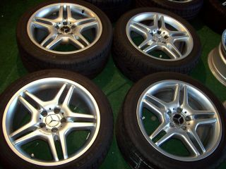 18 AMG Mercedes Wheels Factory SL CLS Class SL500 SL550 CLS500 CLS550