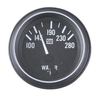 New Stewart Warner HD Water Temperature Gauge 100 280°