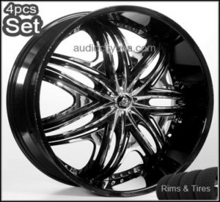 22inch Wheels and Tires Pkg for Land Range Rover Camaro Rims