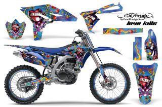 AMR Racing Dirt Bike Graphic MX Wrap Kit Yamaha YZ 250 F YZF 10 12 Ed