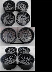 20 AVANT Gard2 364 Wheel & Tire Pkg BMW E60 530 545 550 E63 645