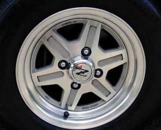 Datsun 280ZX Factory Alloy Wheel Center Caps 1981 1983 New