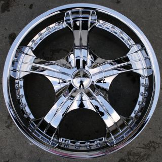 Devino Adana 430 20 Chrome Rims Wheels Lincoln Mark Lt