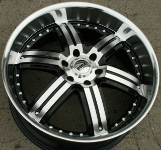 Bigg Daddy 416 22 Black Rims Wheels Ford Expedition F150 6H 22 x 9 5