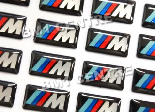 Emblem Badge BMW Steering Wheel Rim Interior Mtec M3 M5 M6 Tech