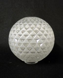 ART DECO Glaskugel LAMPE Ersatzglas LAMP SHADE GLASS GLOBE spare part